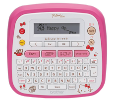 Brother PT-D200KN HELLO KITTY Portable Label Printer (Limited Edition)