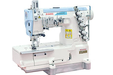 Pegasus Flatbed Interlock stitch Machine or Coverstitch Machine. W500PC Series ECO Selection.
