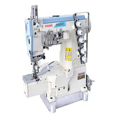 Pegasus Cylinderbed Interlock stitch Machine or Coverstitch Machine. W600PC Series ECO Selection.