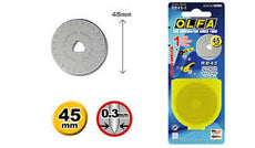 Olfa RB45-1 Disc Blade (For 45mm Rotary Cutters) Tub/1Pc