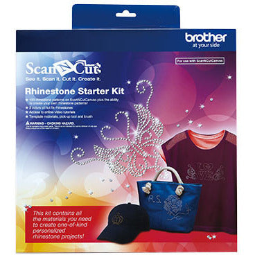 Brother ScanNCut Rhinestone Starter-Kit