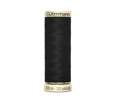 Col. 000 Gutermann Sew All Thread 100m Premium Quality 100% - Black