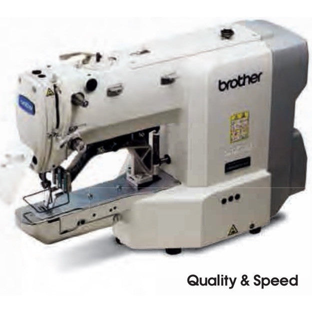 Brother BE40FX KX40FX Industrial Button Attach Machine Delectable Button Sewing Machine