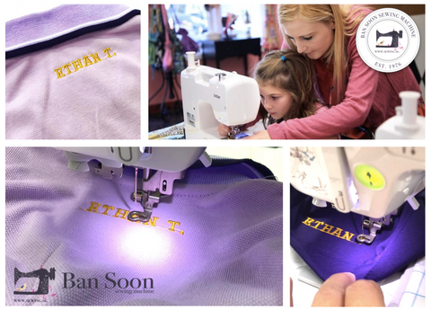 Name Embroidery Workshop - For Your Children / Family