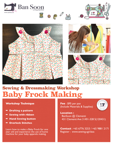 Baby Frock Sewing Workshop