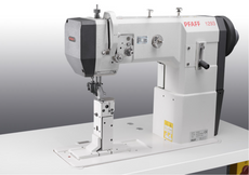 PFAFF 1293-4/01 DLMN 925/03 - Single Needle Large Vertical Hook Roller Presser Driven and Drop Feed Post-bed Machine