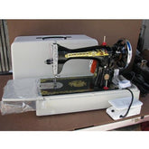 Singer Traditional Sewing Machine 15 CN ; Portable setup with Manual drive or Motor drive.