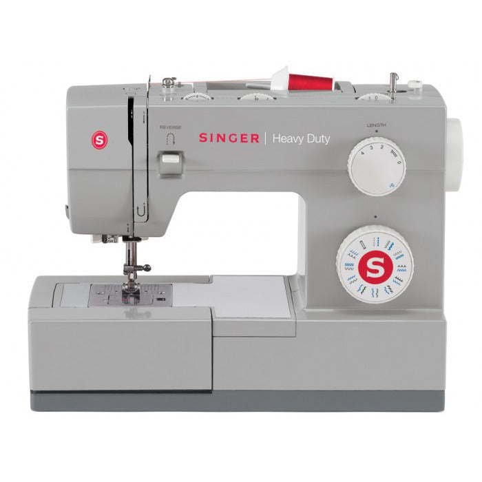 Singer Sewing Machine 4423 Heavy Duty, High speed & Powerful Sewing Machine, Steel Cladded working bed, Full base structure for best stability. Purchase with FREE BanSoonCare.