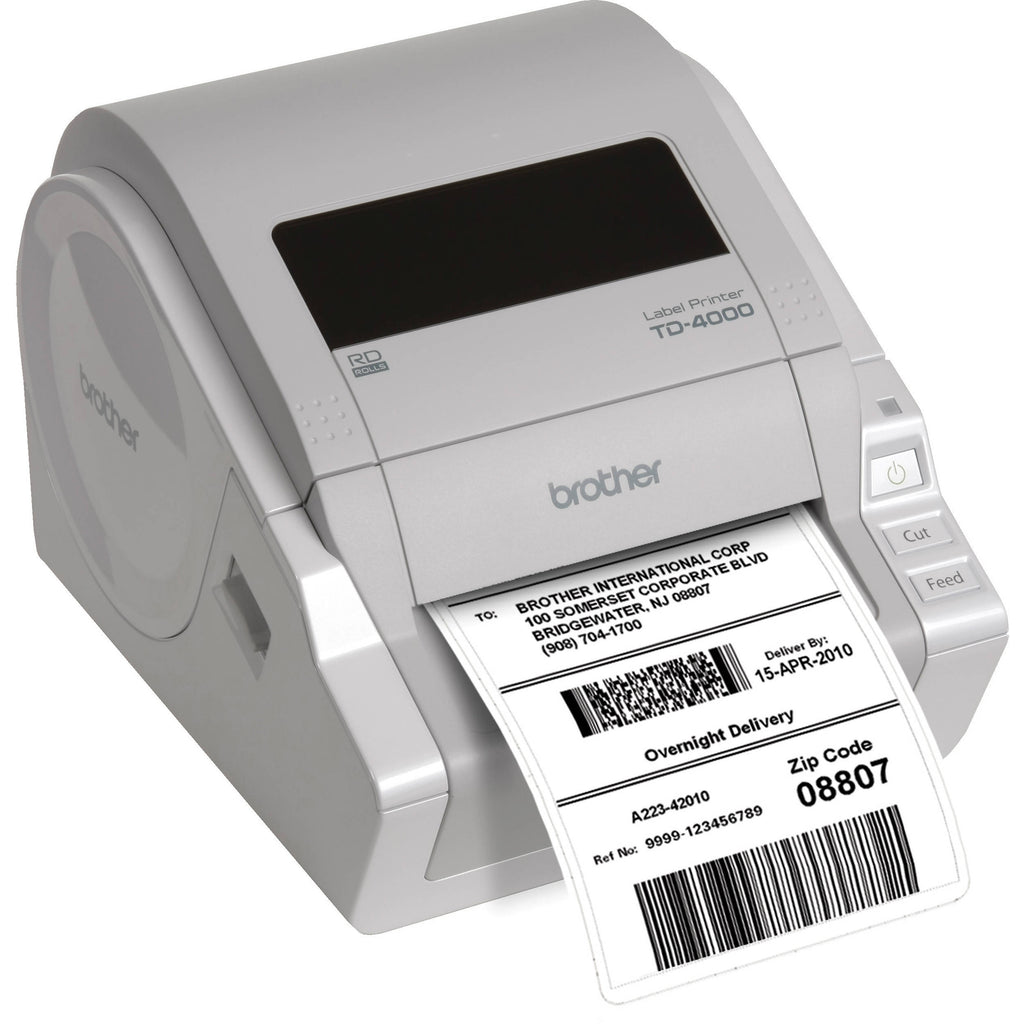 Brother TD-4000 High Performance Industrial Desktop Label Printer - USB, WiFi