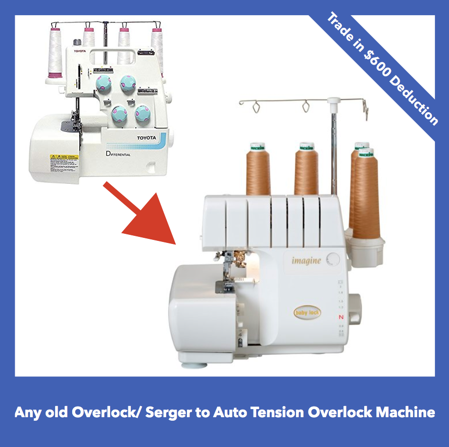 Babylock Imagine (Automatic Serger) BLE1AT-2