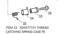 XD0377151  / THREAD CATCHING SPRING CASE FE