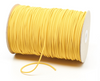 Yellow Elastic Flat  3mm soft and comfu, www,sewing,sg