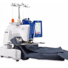 Brother Embroidery Machine VR - Single Needle Cylinder Bed Embroidery Machine + FREE Design Software PE Design 11 worth $1788