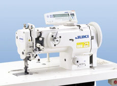Juki DNU-1541 - Industrial Unison Foot 1-needle, Unison-feed, Lockstitch Machine with Double-capacity Hook