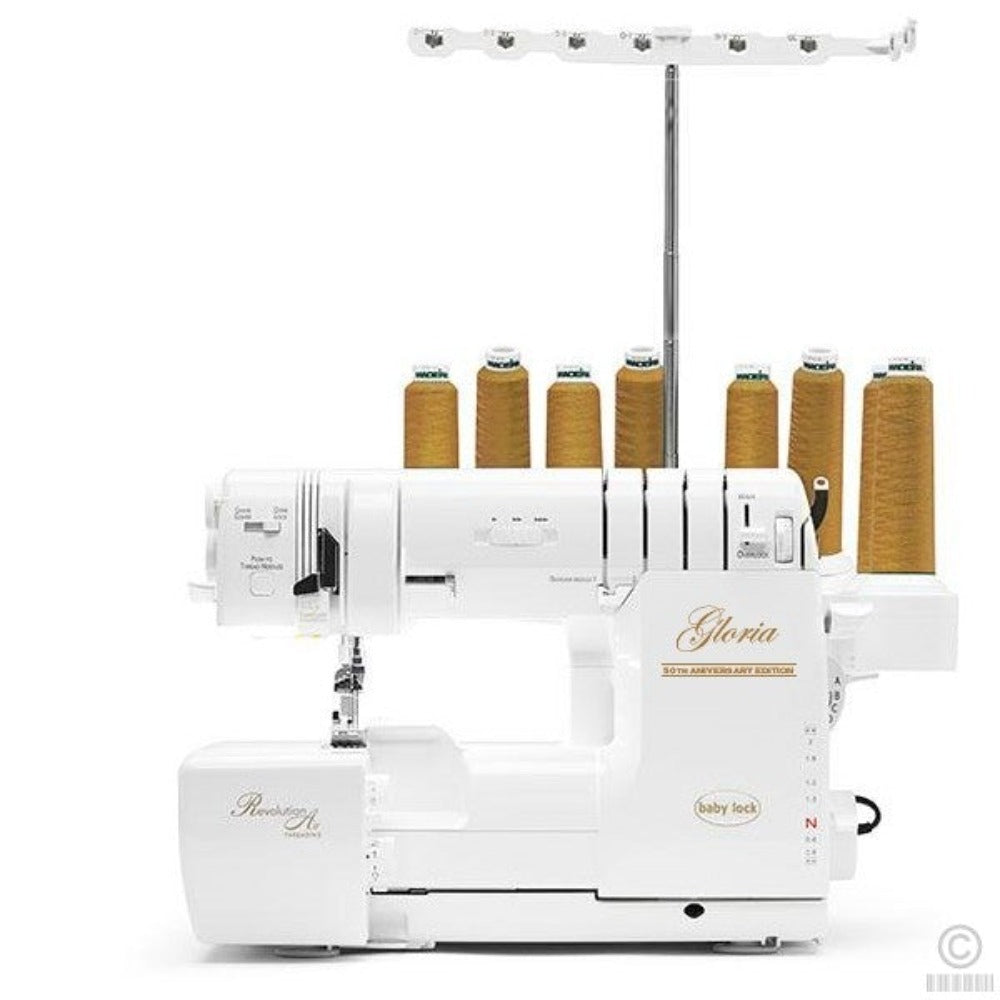 Babylock Gloria (Automatic Serger + Coverstitch + Auto-Needle Threading) - BLETS8