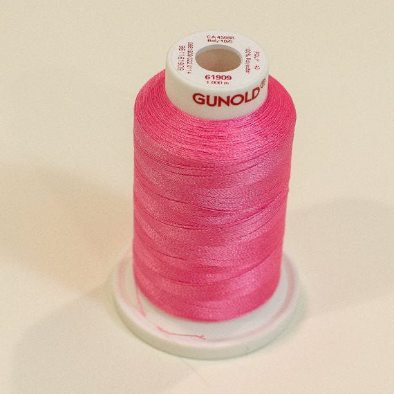 Gunold Embroidery Thread Neon - POLY 40 - 61909