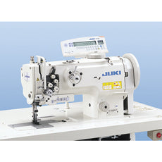 Juki LU-1560N - Double Needle Industrial Unison Feed Lockstitch Machine with Vertical Axis Large Hook