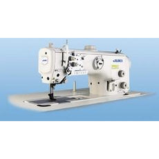 Juki LU-2800-7 Series, Semi-Dry, Unison-Feed, Lockstitch Machine with Automatic Thread Trimmer of V-Belt Type