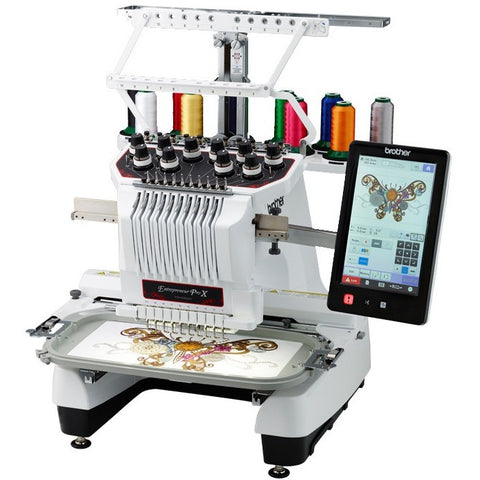 Brother PR-1050X - 10-Needles Embroidery Machine