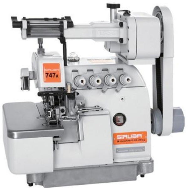 Siruba 747K - 4-Threads Industrial Overlock Machine