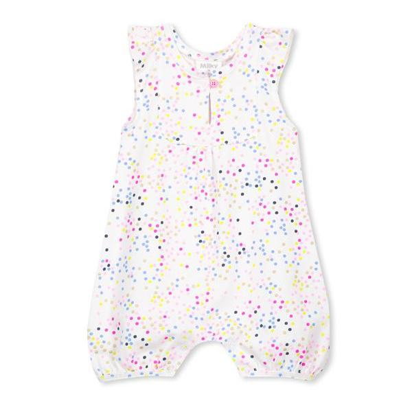 Milky summer baby girl fashion romper onesie