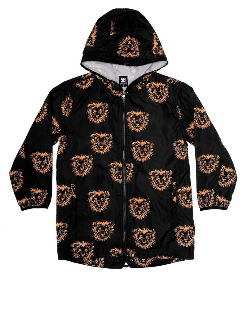 Band of Boys - Lion Mane Rain Jacket - Black