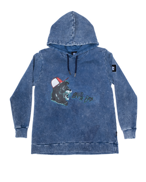 Band of Boys - Shouting Lion A-line Hood Crew - Vintage Blue