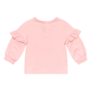 Rock Your Baby - Cosmic Unicorn Baby L/S T-Shirt - Pink
