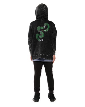 Band of Boys - Snake Bone Zip Hood Crew - Vintage Black