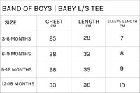Band of Boys - Organic Baby - Furry Snake L/Sleeve Tee - Marle Grey