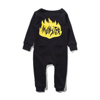 Mini Munster - Elvis All In One Jumpsuit - Black