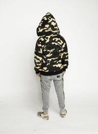Munster - Fluffy Jacket - Camo