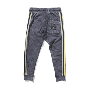 Munster - Washed Out Track Pant - Washed Black