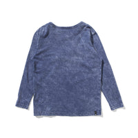 Munster - 4 Life L/Sleeved Tee - Denim