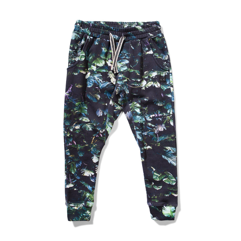 Munster - Foiled Track Pant - Leaf