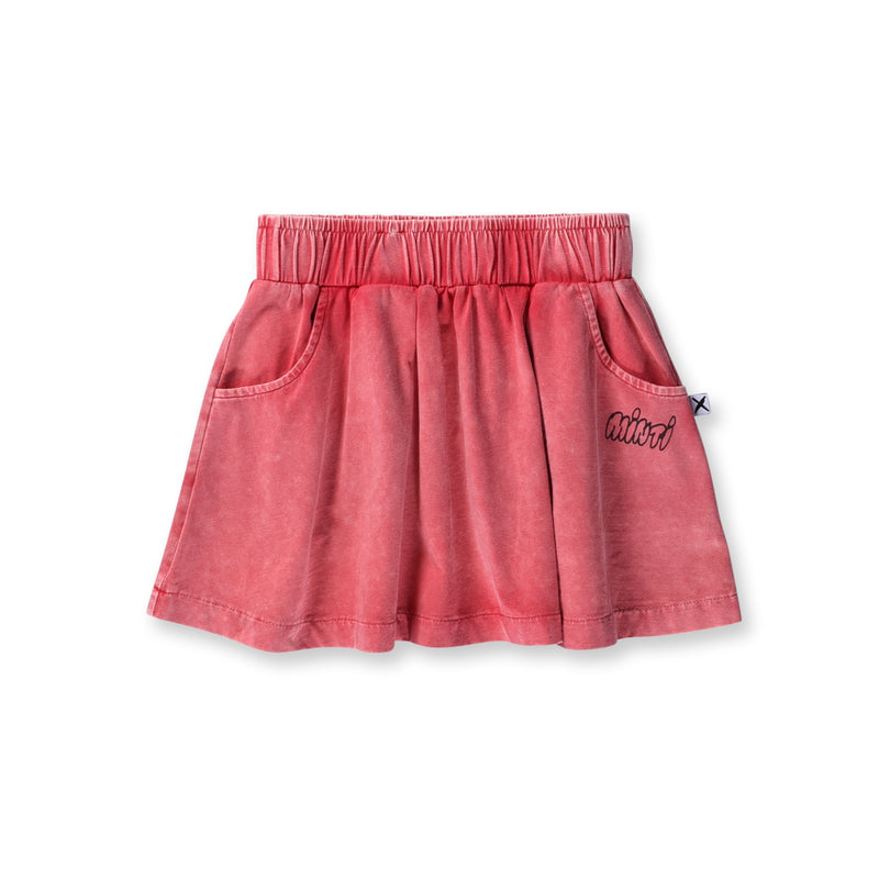 Minti - Blasted Skirt - Watermelon Wash Girls Fashion