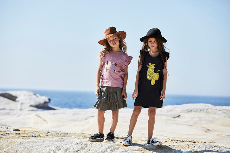 Missie Munster - Arwen Skirt - Fern girls summer fashion