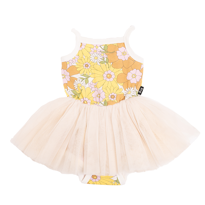 Rock Your Baby - Lou Lou Circus Dress - Flower Power RYB RYK kids fashion tutu
