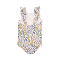 Rock Your Kid - Spring Florals One Piece - Yellow