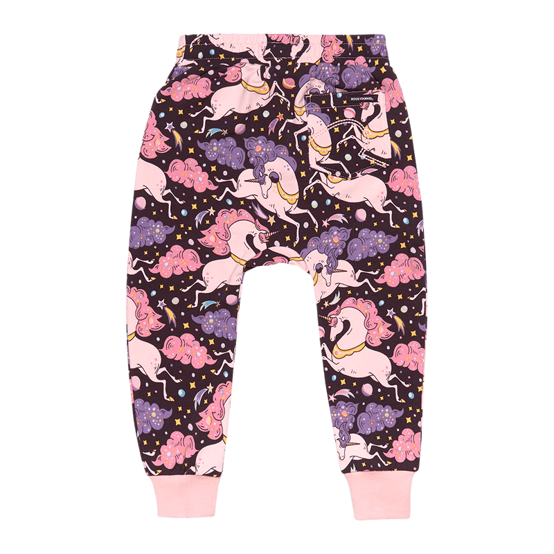 Rock Your Kid - Cosmic Unicorn Tracksuit Pants - Multi