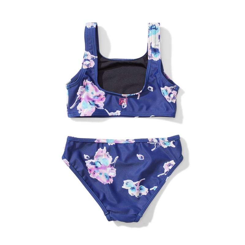 Missie Munster - Maze Bikini - Water Floral summer girls swimwear fashion
