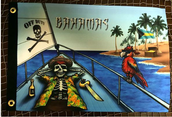 Bahama's Pirate Flag