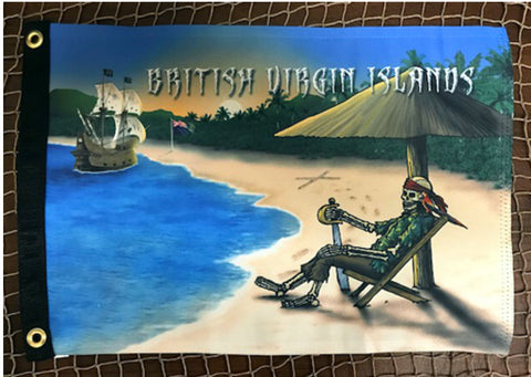 British Virgin Islands Pirate Flag