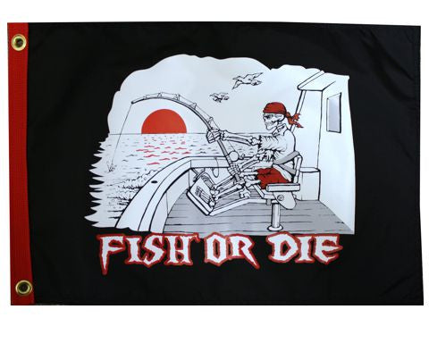 Fish or Die Boat-USA