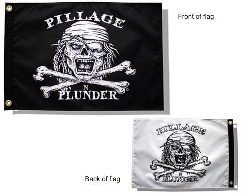Pillage and Plunder Flag-Double Take