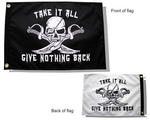 USA Made Take It All Flag