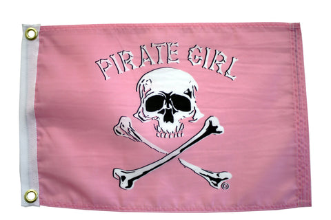 Pirate Girl Economy Flag