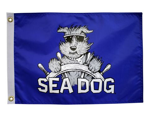 Sea Dog Pirate - Bark-A-Neer Pirate Flag