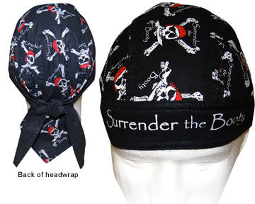 Surrender The Booty Pirate Bandana
