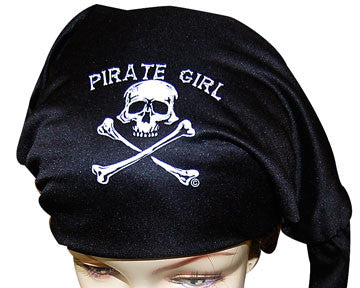 Pirate Girl Bones Headwrap